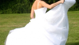 Learning to preserve your wedding dress wedding lush for Why preserve wedding dress