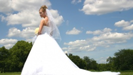 Finding the Right Length for your Wedding Dress